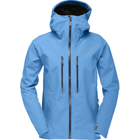 Norrøna Trollveggen Gore-Tex Light Pro Jacket Dam blue moon